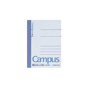 (まとめ) コクヨ キャンパスノート(中横罫) A7変形 B罫 30枚 ノ-242B 1冊 【×80セット】