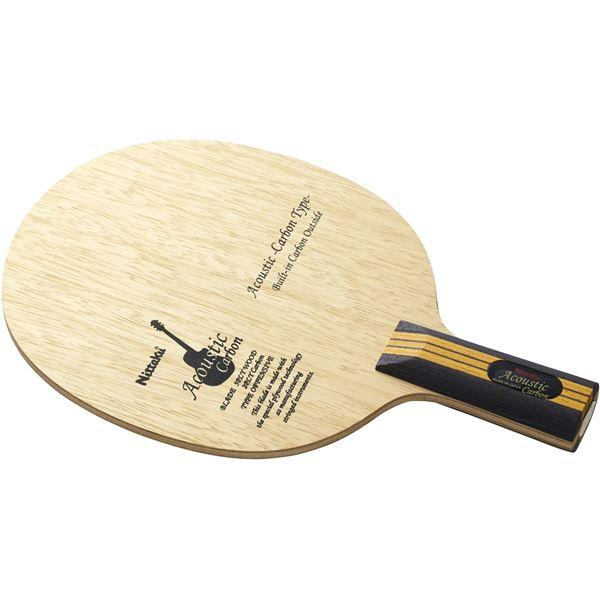 スポーツ用品・スポーツウェア ニッタク(Nittaku) 中国式ペンラケット ACOUSTIC CARBON C(アコースティック カーボン 中国式) NC0179