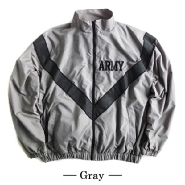 トップス関連商品 US ARMY 防風撥水加工大型リフレクタージャケットレプリカ グレー L
