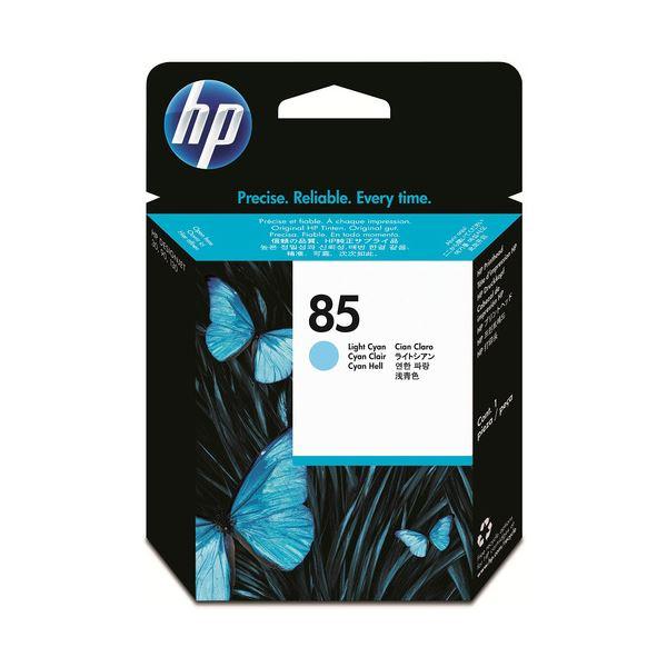 (まとめ) HP85 プリントヘッド ライトシアン C9423A 1個 【×3セット】