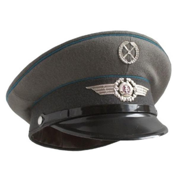 ミリタリー 関連商品 東ドイツ軍 放AF制帽 デットストック 57cm