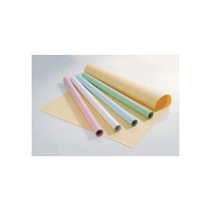 文具・オフィス用品 (まとめ) TANOSEE 色模造紙 788×1091mm クリーム 1ケース(10枚) 【×5セット】
