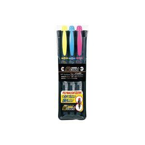 文房具・事務用品 筆記具 関連 (業務用100セット) トンボ鉛筆 蛍コート WA-TC3C 3色セット 【×100セット】