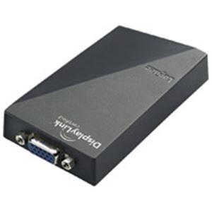 AV・デジモノ (業務用3セット) ロジテック USBディスプレイアダプタ LDE-SX015U 【×3セット】