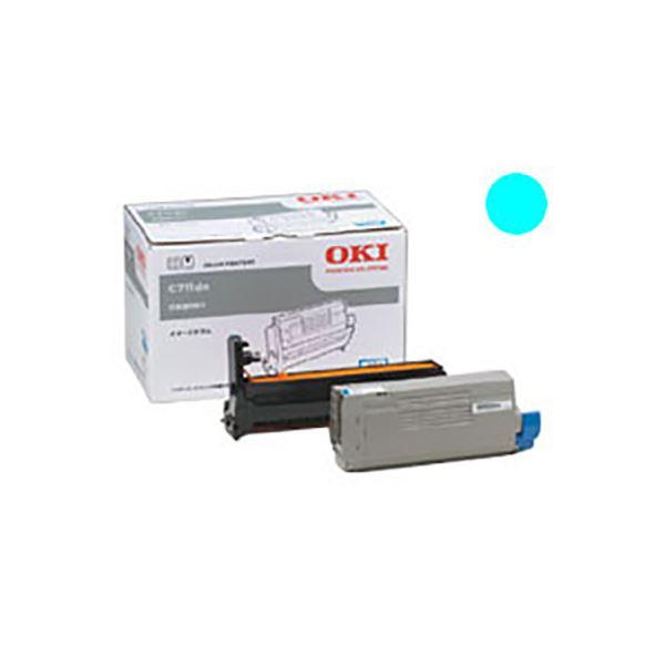 パソコン・周辺機器 【純正品】 OKI(沖データ) ID-C4JC イメージドラム シアン