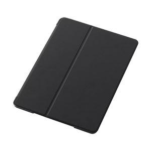 AV・デジモノ エレコム iPad Air用フラップカバー/スリープ対応/液晶保護フィルム付/ブラック TB-A13PVFBK