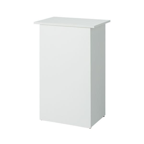 インテリア・寝具・収納 オフィス家具 関連 収納付無人カウンター SHRC-600WH ホワイト