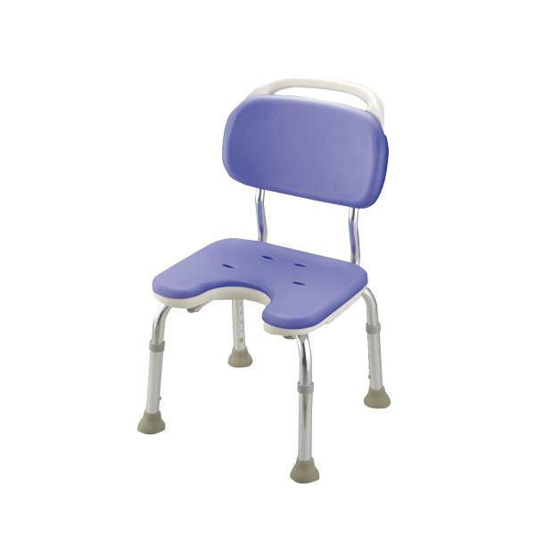 健康器具 シャワーベンチGR U型コンパクト(1)【背付き】 高さ5段階調整可 [入浴用品/介護用品]