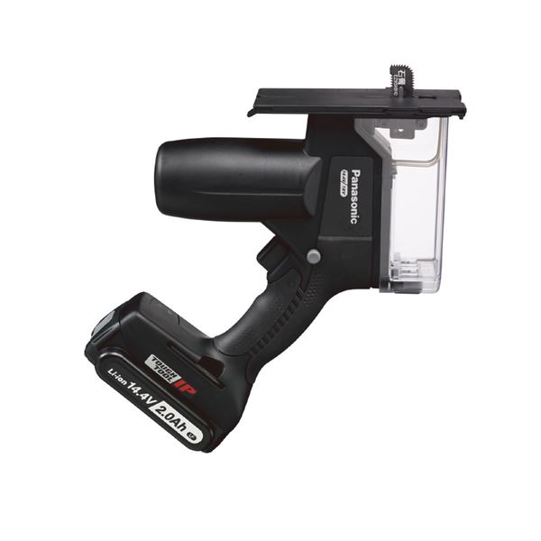 DIY・工具 手動工具 切断工具 カッター 関連 EZ45A3LF1F-B 14.4V2.0Ah 充電角穴カッター(黒)