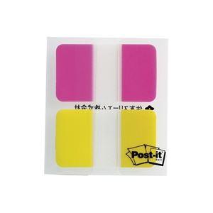 付箋紙・ポストイット関連 (業務用200セット) ポストイット 682M-2 ジョーブインデックス 混色