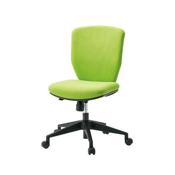 オフィス家具 オフィスチェア 高機能チェア 関連 事務イス KC-CL66SL 肘無イエローグリーン