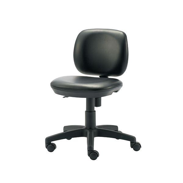 オフィス家具 オフィスチェア 高機能チェア 関連 事務イス KC-JF62NL ブラック レザー張り