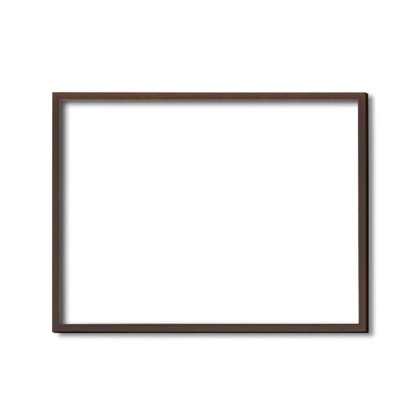 絵画 関連商品 【額縁・絵画額・水彩額】壁掛けひも・アクリル付 ■5767デッサン額(ブラウン) 三三サイズ(606×455mm)