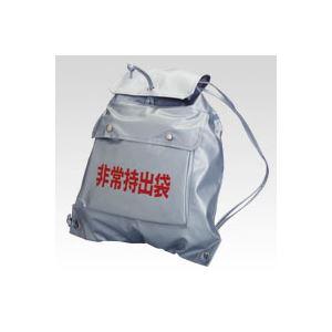 日用品雑貨・文房具・手芸 関連 (業務用セット) 非常持出袋 CR-HJY20-SL シルバー 1個入 【×2セット】