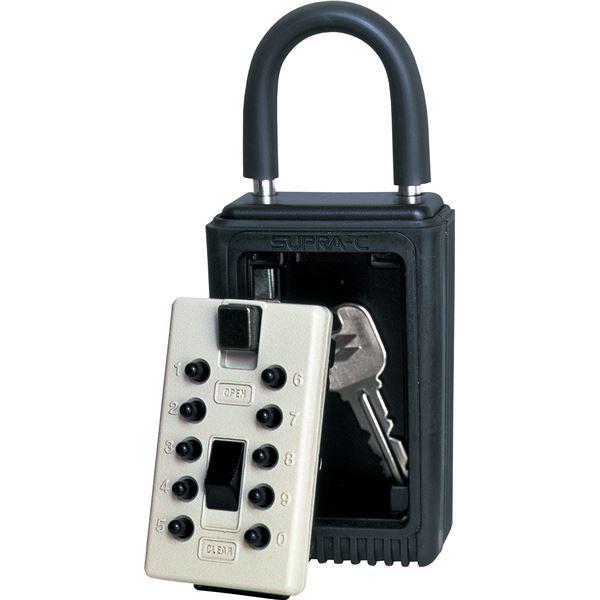 介護用品 関連 ケイデンセキュリティー セキュリティ カギ番人 南京錠型プッシュ式PC4 PC4