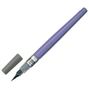 生活用品・インテリア・雑貨 (業務用100セット) ぺんてる 筆ペン XFL3L うす墨 中字 【×100セット】