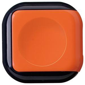 文具・オフィス用品 (まとめ) サンビー 朱肉 シュイングベベ キャロットオレンジ SG-B01 1個 【×20セット】
