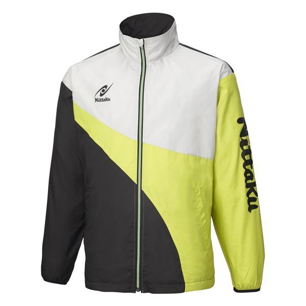 卓球アパレル LIGHT WARMER SPR SHIRT(ライトウォーマーSPRシャツ)男女兼用 NW2848 グリーン XO