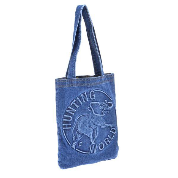 バッグ レディースバッグ ハンドバッグ 関連 ファッション関連商品 HUNTING WORLD (ハンティングワールド) DT-S-131 DENIM TOTE/BLU 手提げバッグ
