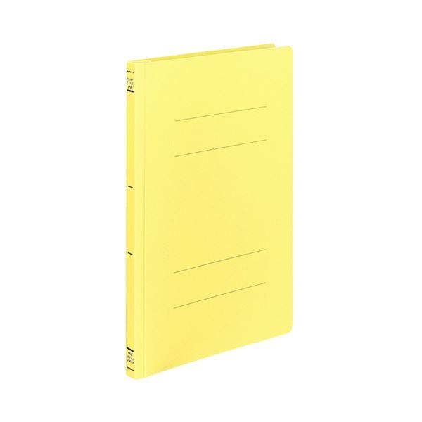文具・オフィス用品 (まとめ) コクヨ フラットファイル(PP) A4タテ 150枚収容 背幅20mm 黄 フ-H10Y 1パック(10冊) 【×3セット】