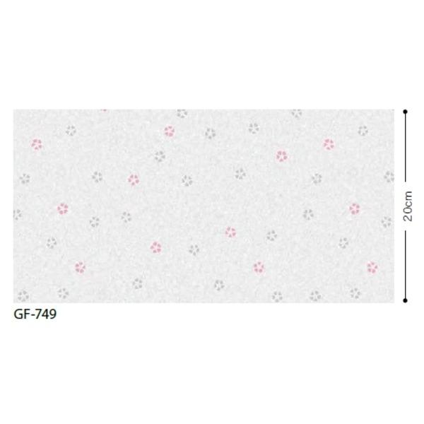 おしゃれな家具 関連商品 和調柄 飛散防止ガラスフィルム GF-749 92cm巾 4m巻