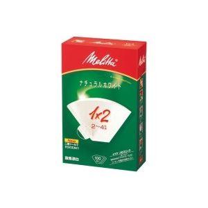 キッチン・食器 (業務用100セット) メリタ アロマジックフィルタペーパー1×2/100枚入 【×100セット】