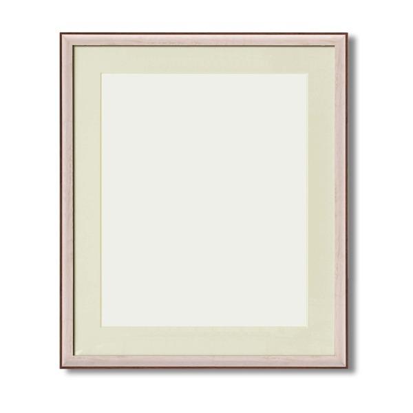 絵画 関連商品 【軽量水彩額】マット・壁掛けひも・アクリル付 ■8155水彩額F10号 マット付 (ホワイト)