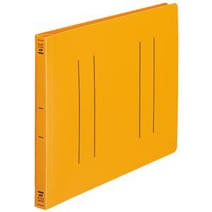 生活用品・インテリア・雑貨 (まとめ) コクヨ フラットファイル(PP) A4ヨコ 150枚収容 背幅20mm オレンジ フ-H15YR 1セット(10冊) 【×3セット】