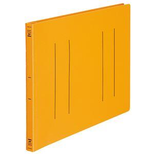 (まとめ) コクヨ フラットファイル(PP) B4ヨコ 150枚収容 背幅20mm オレンジ フ-H19YR 1セット(10冊) 【×2セット】