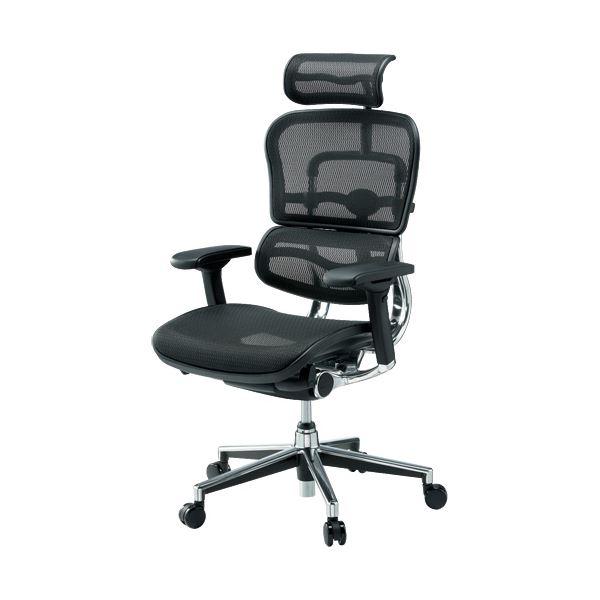 オフィス家具 オフィスチェア 高機能チェア 関連 事務イス EH-HAM-HB KM-11 BK