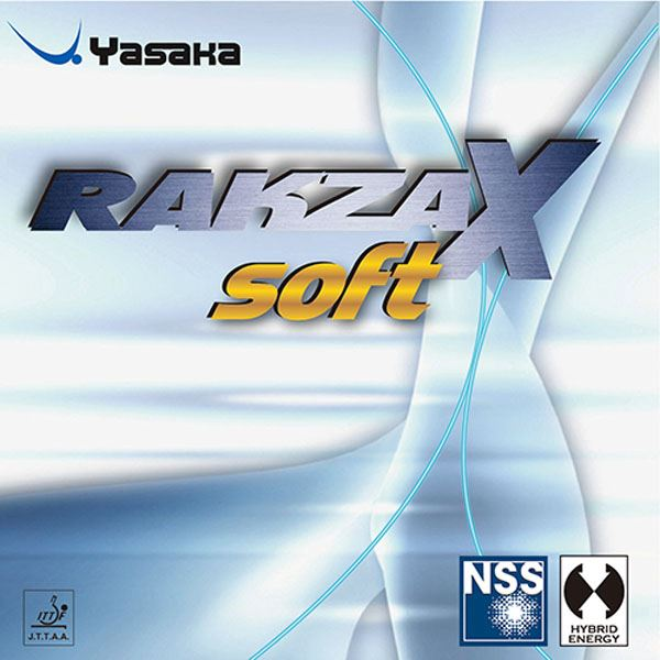 卓球ラケット用ラバー 関連商品 裏ソフトラバー ラクザX ソフト B83 クロ A