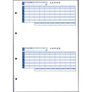 パソコン・周辺機器 PCサプライ・消耗品 コピー用紙・印刷用紙 関連 (業務用3セット) オービックビジネスコンサルタント 奉行シリーズ用専用 単票封筒用明細書 6202