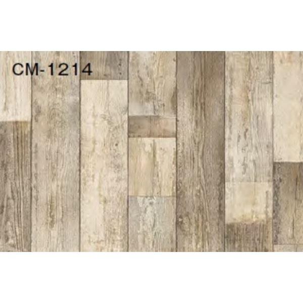 インテリア・寝具・収納 関連 サンゲツ 店舗用クッションフロア ペイントウッド 品番CM-1214 サイズ 200cm巾×6m