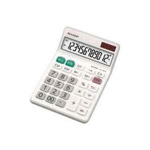 文具・オフィス用品 (業務用30セット) シャープ SHARP 電卓 12桁 EL-N432X 【×30セット】