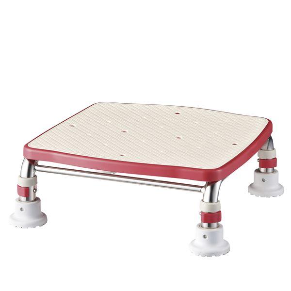 バス用品・入浴剤 アロン化成 浴槽台 ステンレス製浴槽台Rジャスト(5)20-30 レッド 536-498