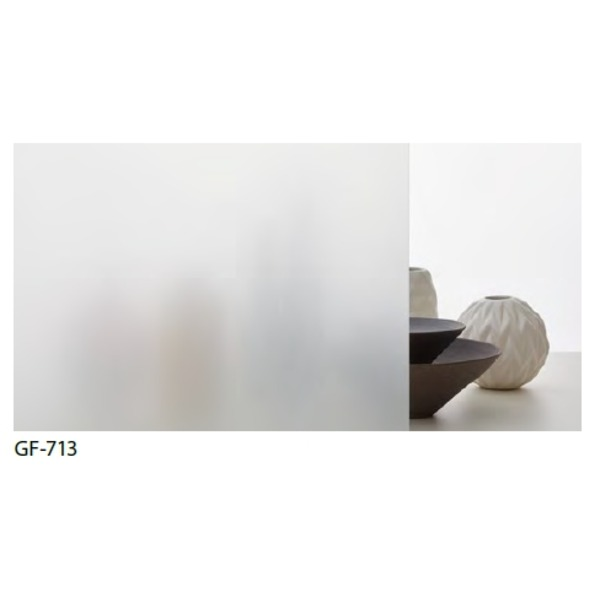 すりガラス調 飛散防止・UVカット ガラスフィルム GF-713 97cm巾 7m巻