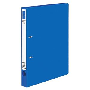(まとめ) コクヨ Dリングファイル(ER) A4タテ 2穴 200枚収容 背幅34mm 青 フ-UDR420NB 1冊 【×10セット】