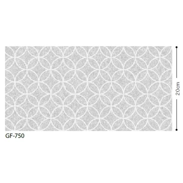 おしゃれな家具 関連商品 和 七宝 飛散防止ガラスフィルム GF-750 92.5cm巾 10m巻