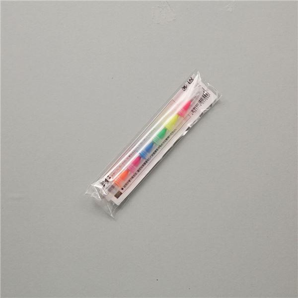 便利 日用品 (まとめ買い)洗える蛍光クレヨン 6色組 【×30セット】