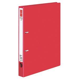 (まとめ) コクヨ Dリングファイル(ER) A4タテ 2穴 200枚収容 背幅34mm 赤 フ-UDR420NR 1冊 【×10セット】