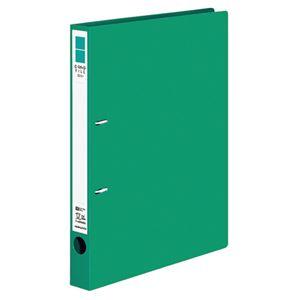 (まとめ) コクヨ Dリングファイル(ER) A4タテ 2穴 200枚収容 背幅34mm 緑 フ-UDR420NG 1冊 【×10セット】