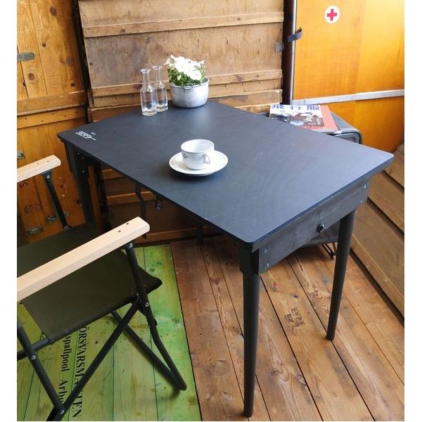 生活日用品 USタイプ 折り畳み式野戦フォールディングテーブルウッドレプリカ