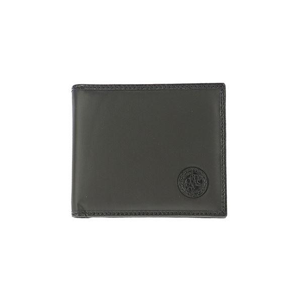 財布 関連商品 HUNTING WORLD (ハンティングワールド) 320-13A/BATTUE ORIGIN/BLK 二つ折り財布