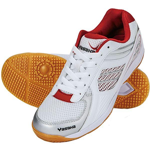 卓球ラケット 関連商品 卓球シューズ ジェット・インパクト(JET IMPACT) E200 レッド 25
