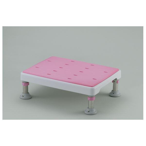 日用品 便利 浴槽台 浴そう台高さ調節付やわらか (1)L型 ピンク 49751