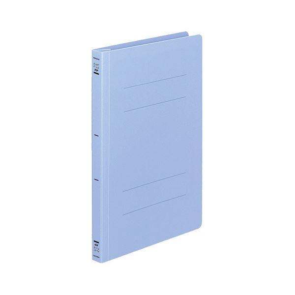 (まとめ) コクヨ フラットファイル(PP) B5タテ 150枚収容 背幅20mm 青 フ-H11B 1セット(10冊) 【×3セット】
