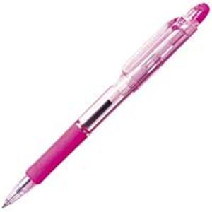 生活用品・インテリア・雑貨 (業務用300セット) ゼブラ ZEBRA ボールペン ジムノック KRB-100-P ピンク 【×300セット】