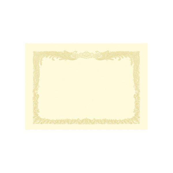ササガワ OA賞状用紙100枚入 A3縦書クリーム 10-1187