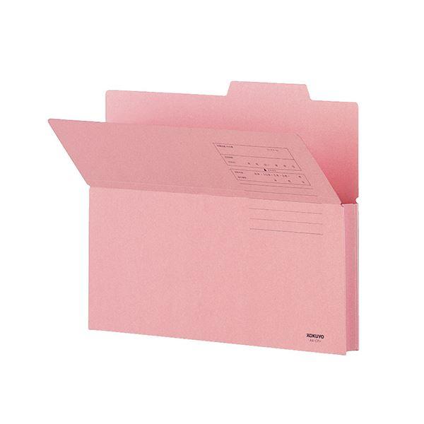 文具・オフィス用品 (まとめ) コクヨ 持ち出しフォルダー(カラー) A4 ピンク A4-CFP 1パック(10冊) 【×4セット】