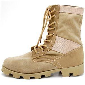 ブーツ・靴 関連商品 米軍 ジャングルブーツレプリカ サンド 6W(25.0~25.5cm)